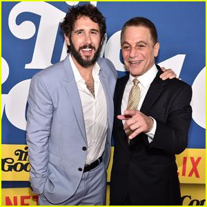 Josh Groban & Tony Danza Premiere 'The Good Cop' in NYC