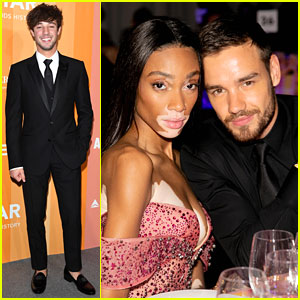 Liam Payne, Winnie Harlow & Cameron Dallas Attend amfAR Gala Milan 2018
