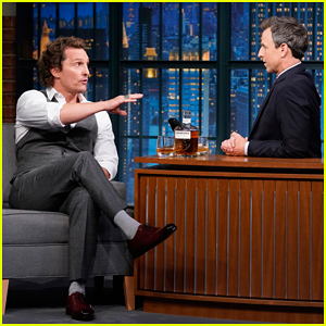 Matthew McConaughey Describes His Whiskey Like It's Music