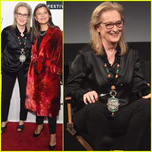 Meryl Streep Supports Best Friend Tracey Ullman at Tribeca TV Festival