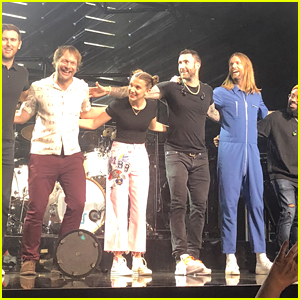 Millie Bobby Brown Performs Cardi B's 'Girls Like You' Verse at Maroon 5 Concert in Nashville - Watch!