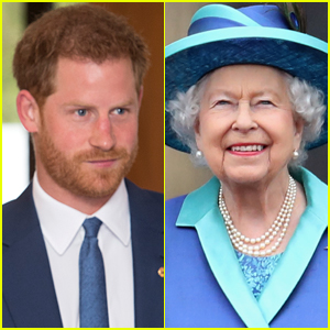 Prince Harry Says He Panics When He Bumps Into Queen Elizabeth at Buckingham Palace