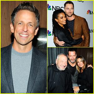 Seth Meyers, Ryan Eggold & Mariska Hargitay Celebrate NBC's 2018-2019 Season!