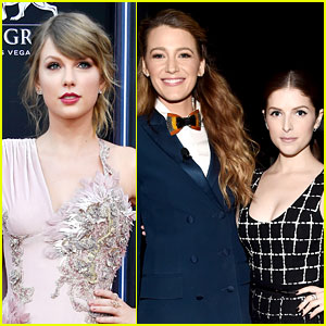 Taylor Swift Gushes About Blake Lively & Anna Kendrick's 'A Simple Favor'