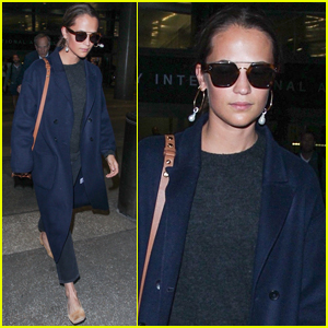 Alicia Vikander Touches Down for a Weekend in L.A.