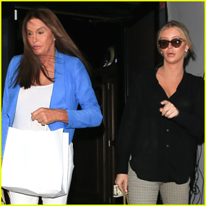 Caitlyn Jenner & Sophia Hutchins Pick Up Dinner to Go From Craig's