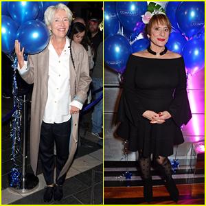 Emma Thompson Supports Patti LuPone at 'Company' Opening Night!