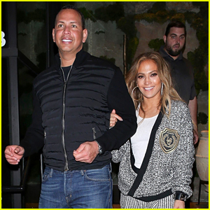 Jennifer Lopez & Alex Rodriguez End Their Weekend with Date Night!