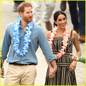 Meghan Markle & Prince Harry Go Barefoot at Bondi Beach in Australia!
