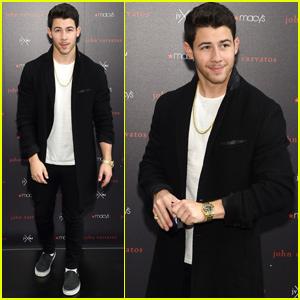 Nick Jonas Brings His 'John Varvatos' Collaboration to New York!