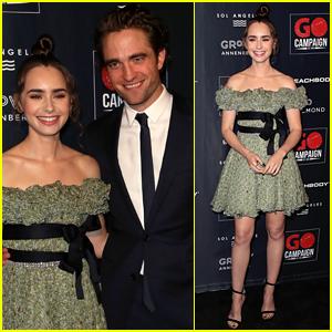 Robert Pattinson & Lily