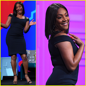 Tiffany Haddish Helps Demonstrates Adobe's Latest Technology!