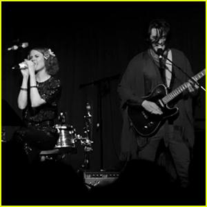 Zane Carney & Evan Rachel Wood Perform 'Jolene' - Watch! (Exclusive)