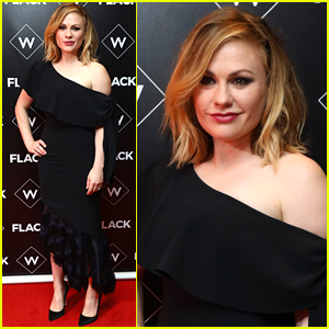 Anna Paquin Steps Out for 'Flack' Premiere in London