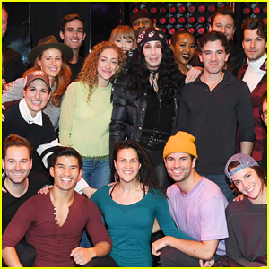 Cher Surprises Cast of 'The Cher Show' During NYC Rehearsals!