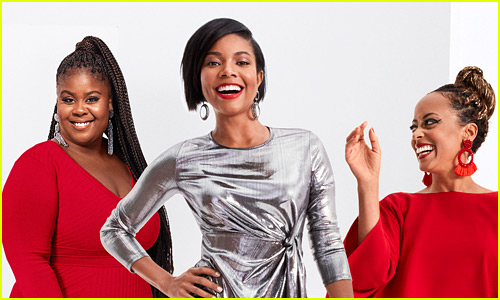 Gabrielle Union Styles Three Perfect Holiday Party Outfits from Her New Collection! (Exclusive)