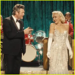 Blake Shelton Stars Alongside Gwen Stefani in 'You Make It Feel Like Christmas' Music Video - Watch Now!