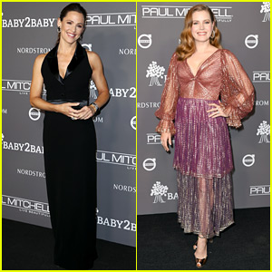 be71646f63c22 Jennifer Garner   Amy Adams Glam Up for Baby2Baby Gala!
