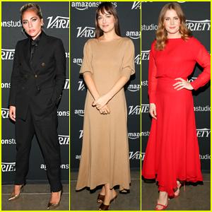 Lady Gaga, Dakota Johnson, & Amy Adams Step Out for Variety Studio: Actors on Actors 2018!