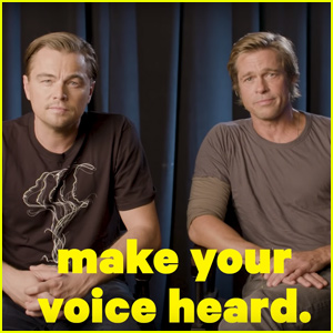 Leonardo Dicaprio & Brad Pitt Urge Public to Vote in 'Most Consequential' Election of Our Lifetime