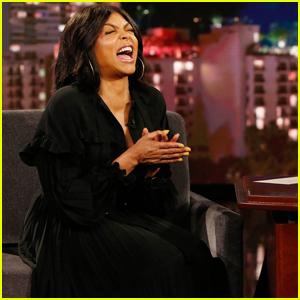 Taraji P. Henson Gives Update On Wedding with Kelvin Hayden on 'Kimmel': 'A Ways Off'