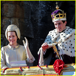 'The Crown' Stars Film Prince Charles' Investiture Ceremony