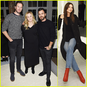 Amy Schumer Gets Support from Armie Hammer & Justin Theroux at Le Cloud Collection Launch!