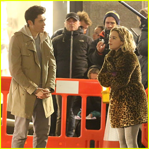 Emilia Clarke Films an Upcoming Christmas Movie with Henry Golding!