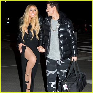 Mariah Carey Poses for Pictures With Boyfriend Bryan Tanaka in Belgium!