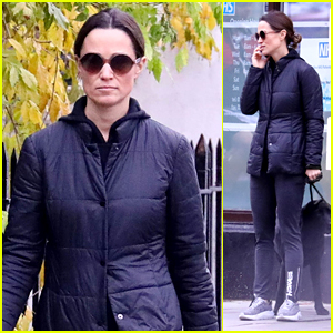 Pippa Middleton Heads Out to Walk Her Dogs 7 Weeks After Giving Birth