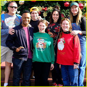 Rachel Bloom & 'Crazy Ex-Girlfriend' Get Festive at Knotts Berry Farm Trip!