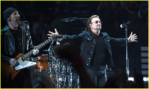 U2 menjadi musisi dengan pendapatan tertinggi selama tahun 2018 (dok. Just Jared)