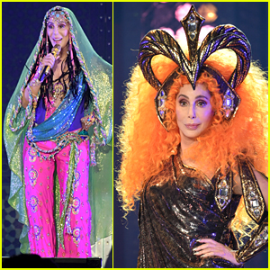 Cher Kicks Off 'Here We Go Again' Tour With Some Epic Outfits!