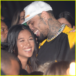 Chris Brown Packs on PDA with Rumored Girlfriend Ammika Harris