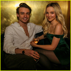 Dove Cameron Couples Up With Boyfriend Thomas Doherty at 23rd Birthday Bash!