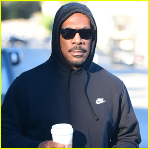 Eddie Murphy Goes for Morning Coffee Run in L.A.