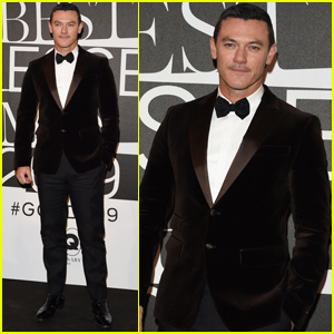 Luke Evans Suits Up For 'GQ'