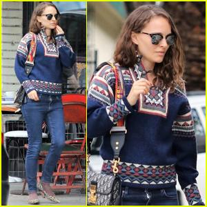 Natalie Portman Grabs Lunch with a Friend in Los Feliz