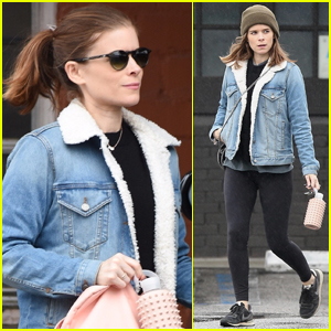 Pregnant Kate Mara Covers Up Her Baby Bump in L.A.