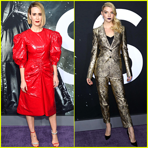 Sarah Paulson & Anya Taylor-Joy Look So Chic at 'Glass' NYC Premiere!