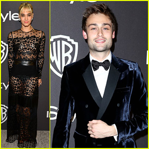 Douglas Booth Photos, News and Videos | Just Jared