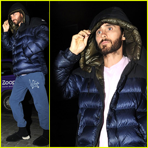 Jared Leto Steps Out During Break From 'Morbius' Filming