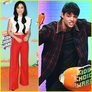Lana Condor Presents Noah Centineo with Favorite Movie Actor at Kids' Choice Awards 2019!