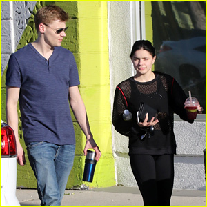 Ariel Winter Hangs Out With Levi Meaden After Her Workout