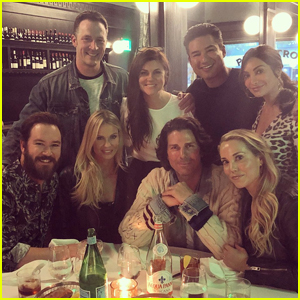 Mark Paul Gosselaar Reunites with 'Saved by the Bell' Co-Stars!