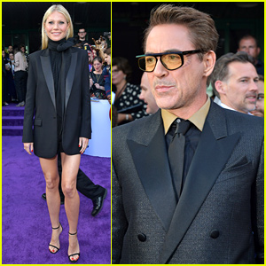 Robert Downey Jr. & Gwyneth Paltrow Bring 'Iron Man' to 'Avengers: Endgame' Premiere