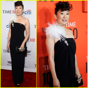 Sandra Oh Celebrates Her Honor at the Time 100 Gala 2019!