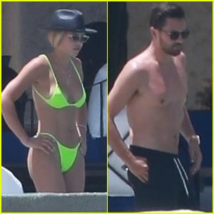 Sofia Richie Rocks Neon Bikini with Shirtless Scott Disick in Cabo!