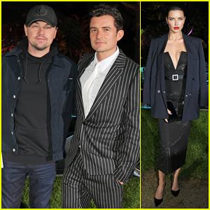 Leonardo DiCaprio & Orlando Bloom Buddy Up To Celebrate Formula E Film Launch!