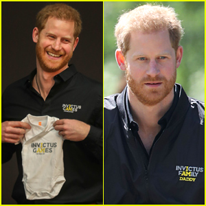 Prince Harry Wears 'Daddy' Jacket, Gets Adorable Onesie for Archie in First Royal Appearance Since Son's Birth!